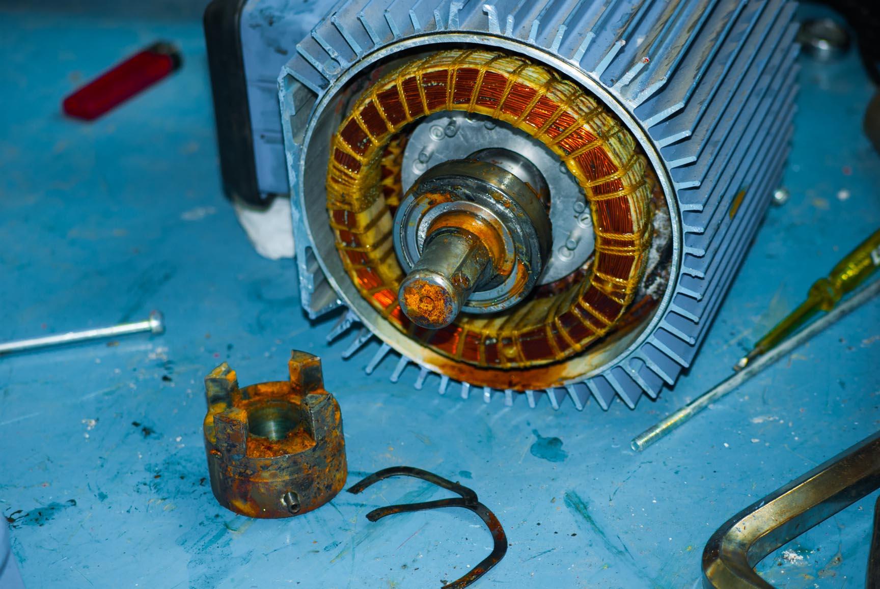 Motor for Hoisting, Motor For Long Travel, and Motor For Cross ...