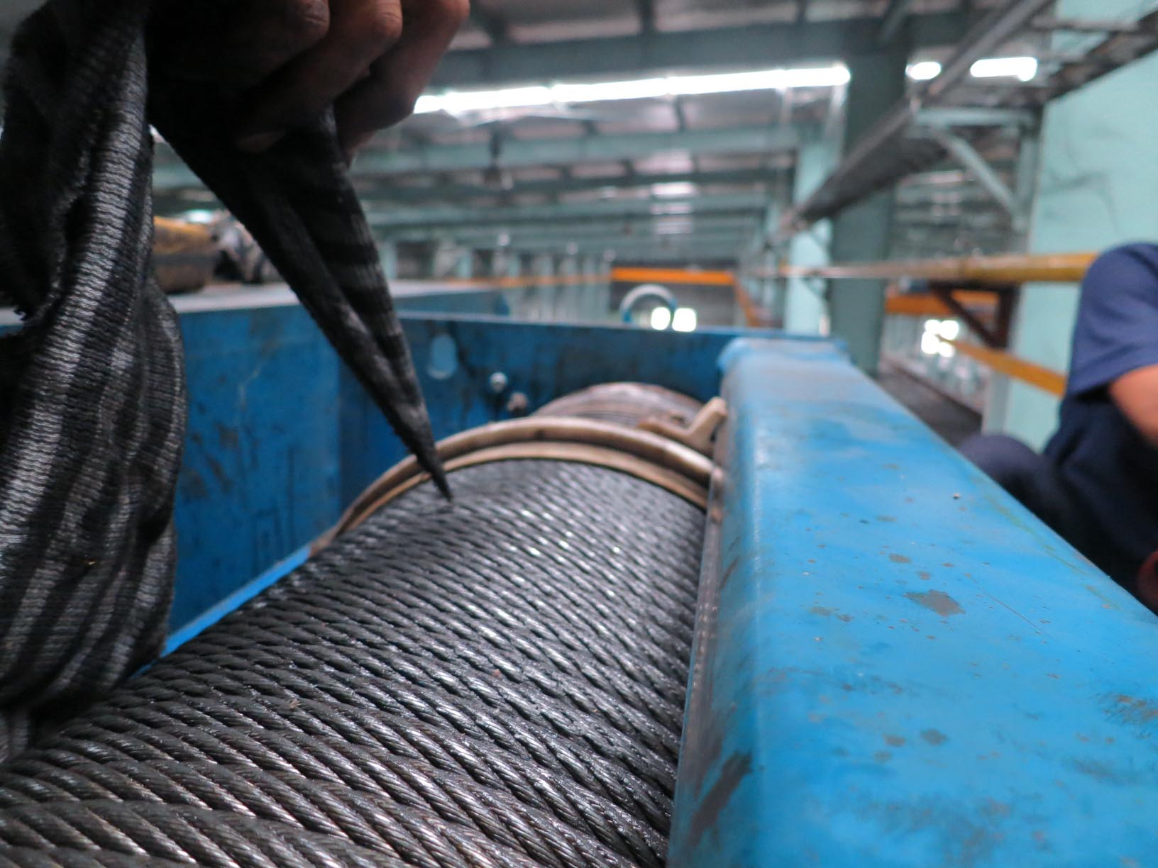 Simple trick to check wire rope condition. | Pusaka Alam Sentosa