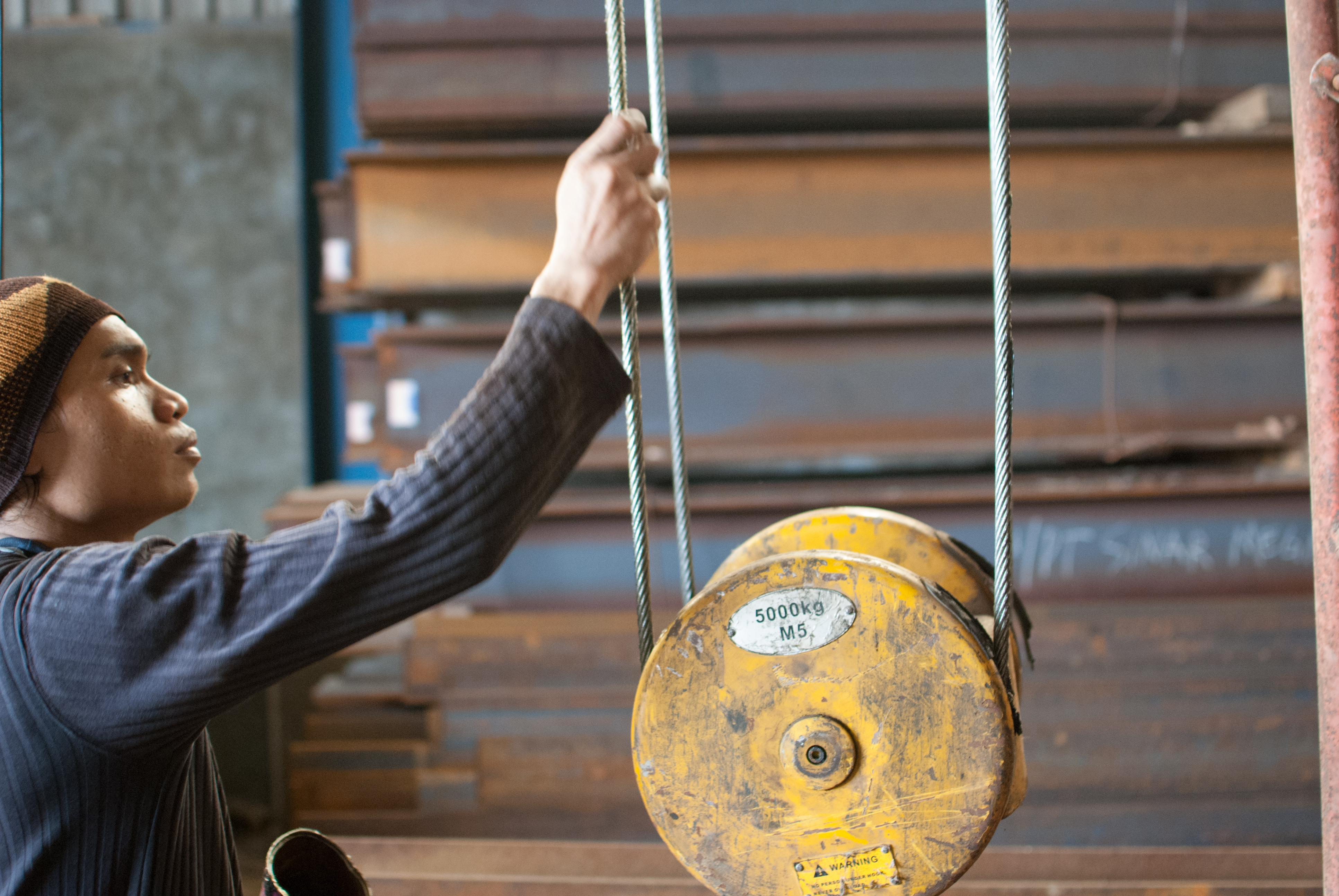 Wire Rope and Current Collector Replacement | Pusaka Alam Sentosa